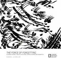 THE FORCE OF FORGETTING <br>$5 ($3 Friends)